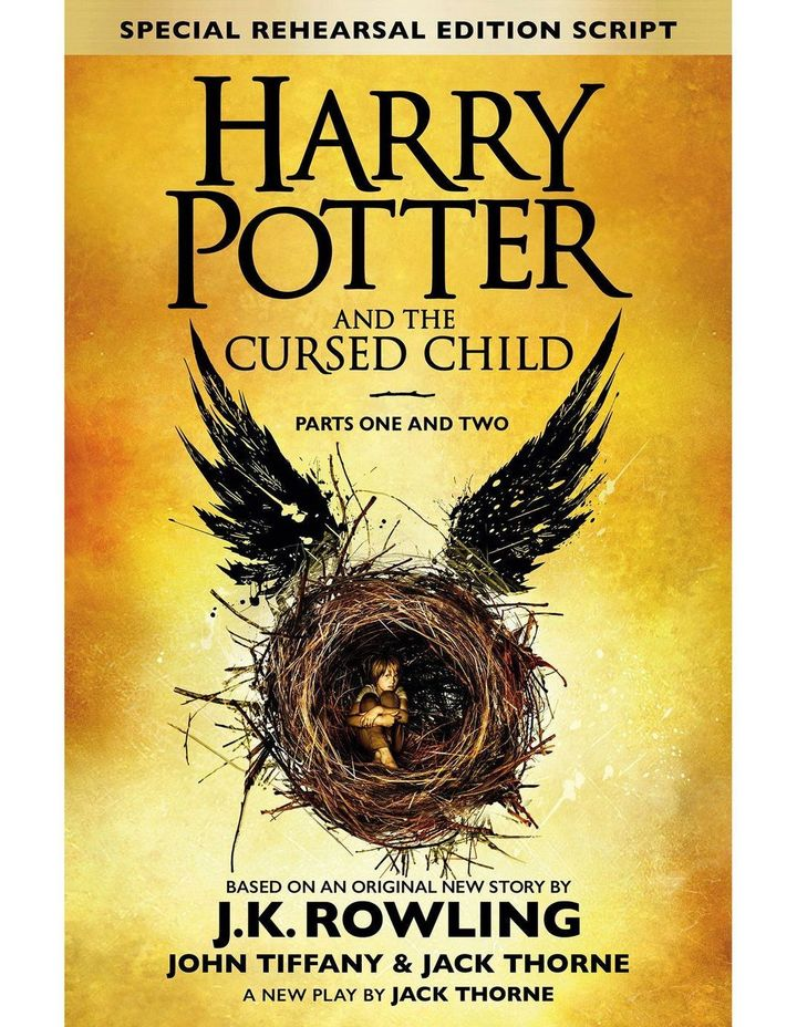 Harry Potter and the Cursed Child Parts I & II: Special Rehearsal Edition Script (hardback) image 1