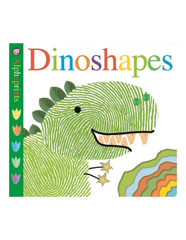 Alphaprints Dinoshapes (board book) image 1