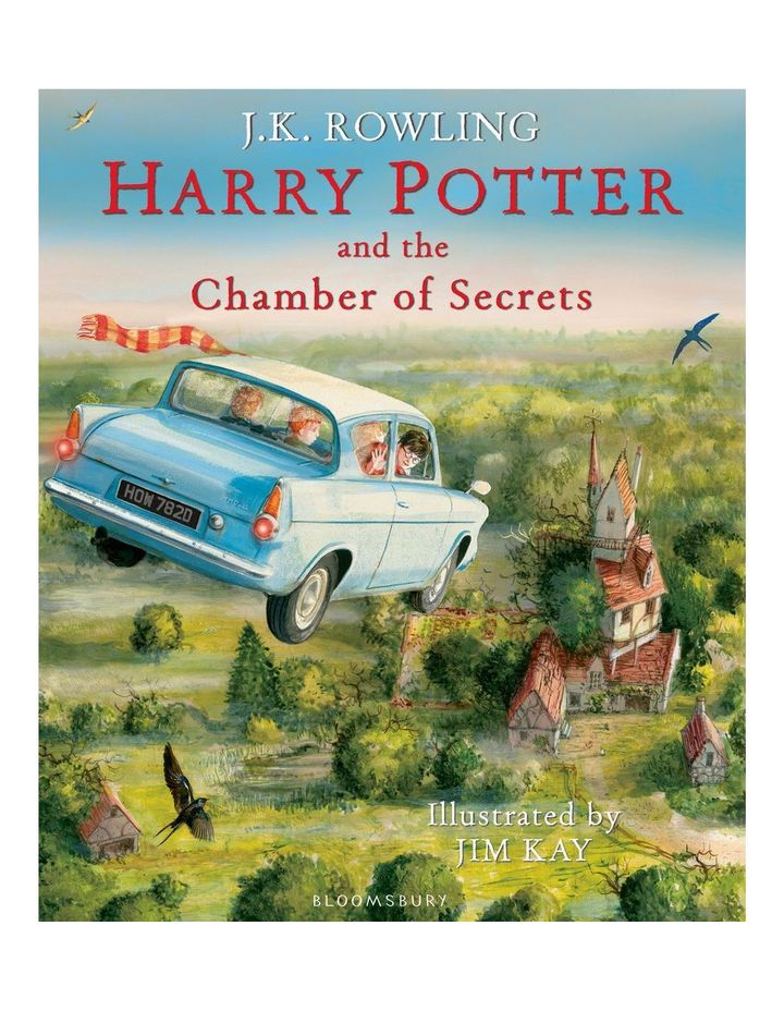 Harry Potter and the Chamber of Secrets Illustrated Edition by J.K. Rowling & illustrated by Jim Kay (hardback) image 1