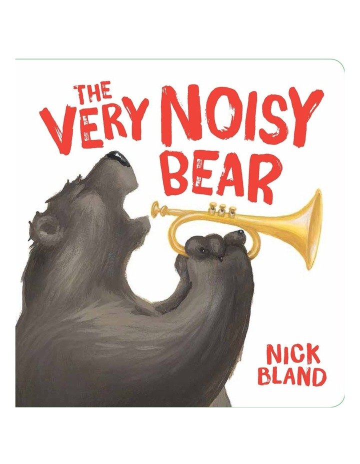 The Very Noisy Bear (Board Book) image 1