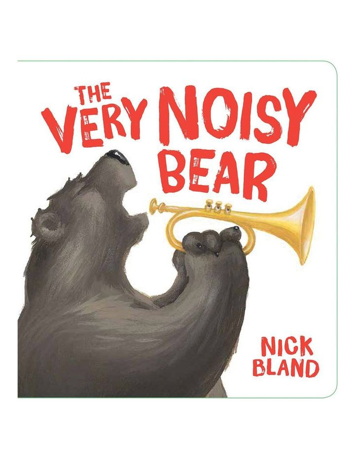 The Very Noisy Bear by Nick Bland (board book) image 1