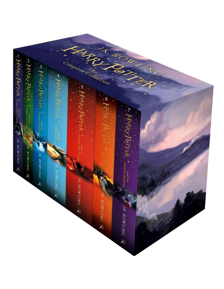 Harry Potter the Complete Collection Paperback Box Set image 1
