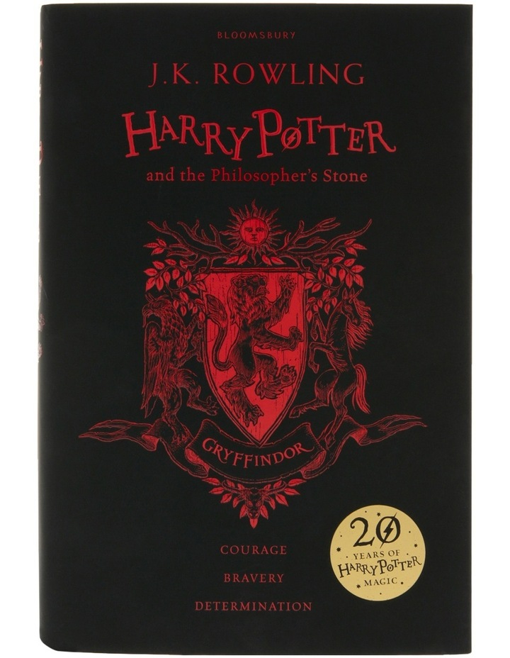 Harry Potter And The Philosopher'S Stone 20Th Anniversary Gryffindor Edition image 1