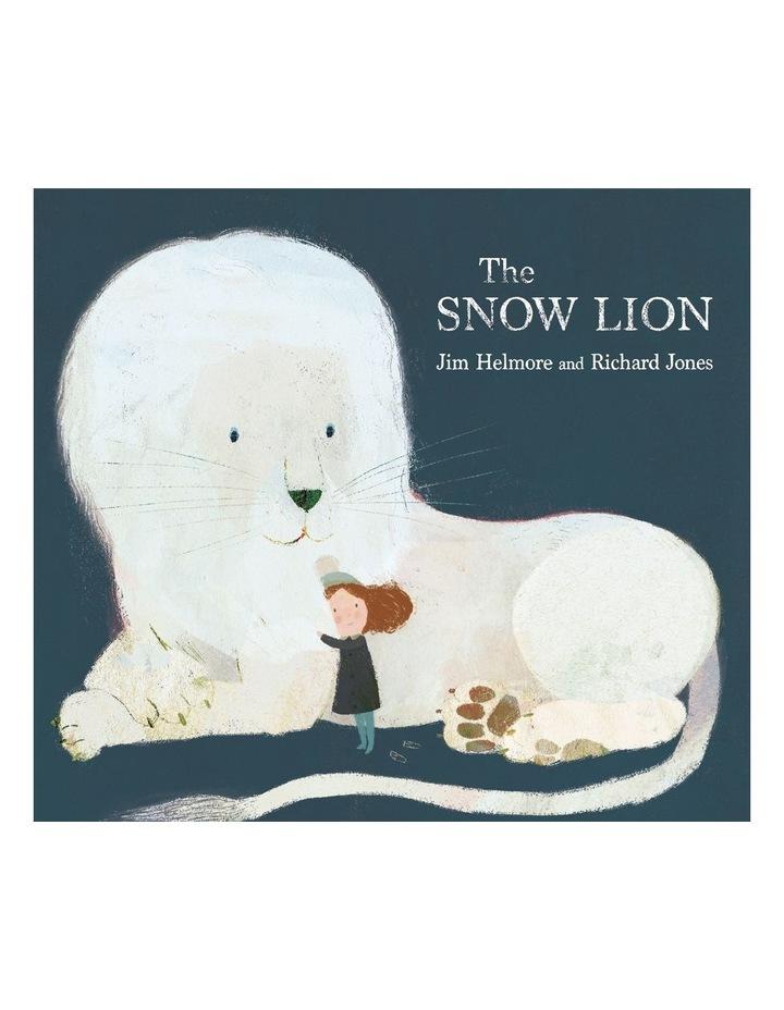 Snow Lion by Jim Helmore (hardback) image 1