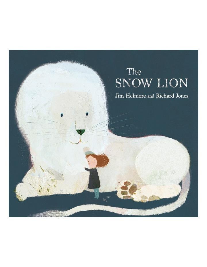 Snow Lion by Jim Helmore (hardback) image 2