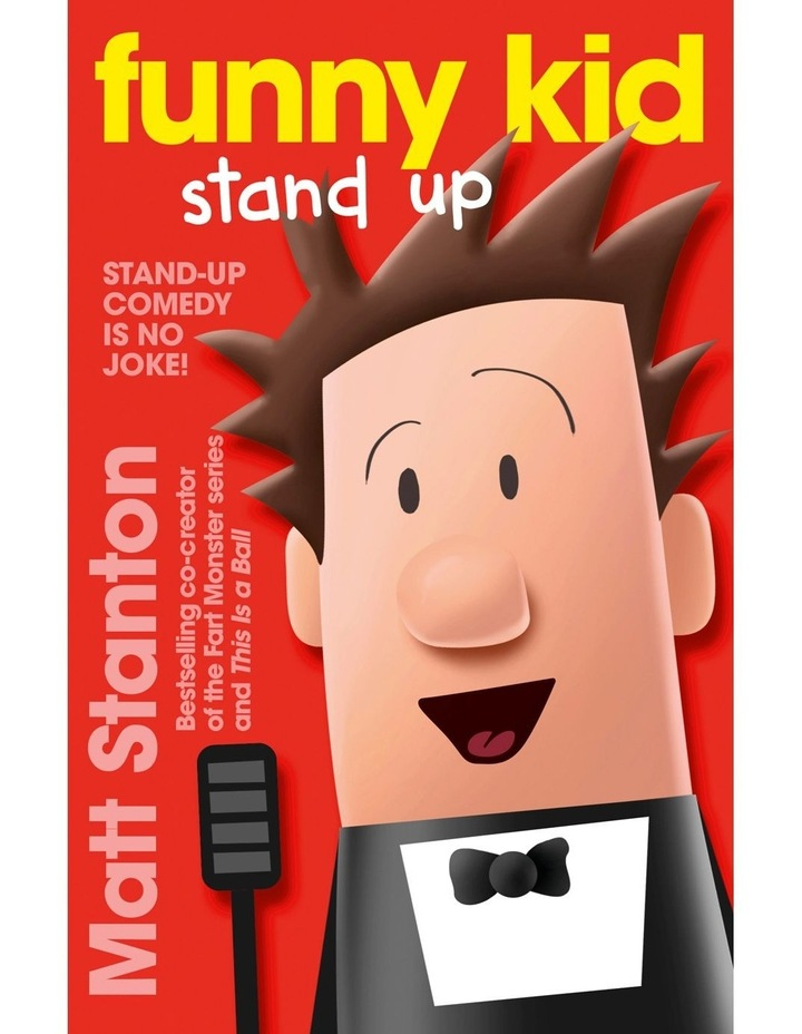 Funny Kid Stand Up by Matt Stanton (Paperback) image 1