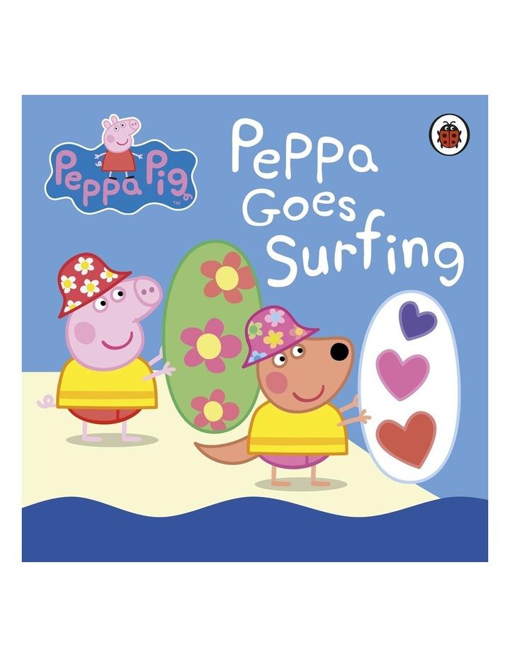 Peppa Pig: Peppa Goes Surfing by Ladybird (Board Book) image 1