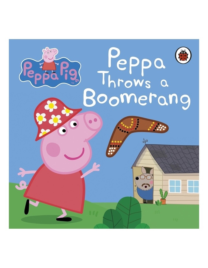 Peppa Pig: Peppa Learns To Throw A Boomerang By Ladybird (Board Book) image 1