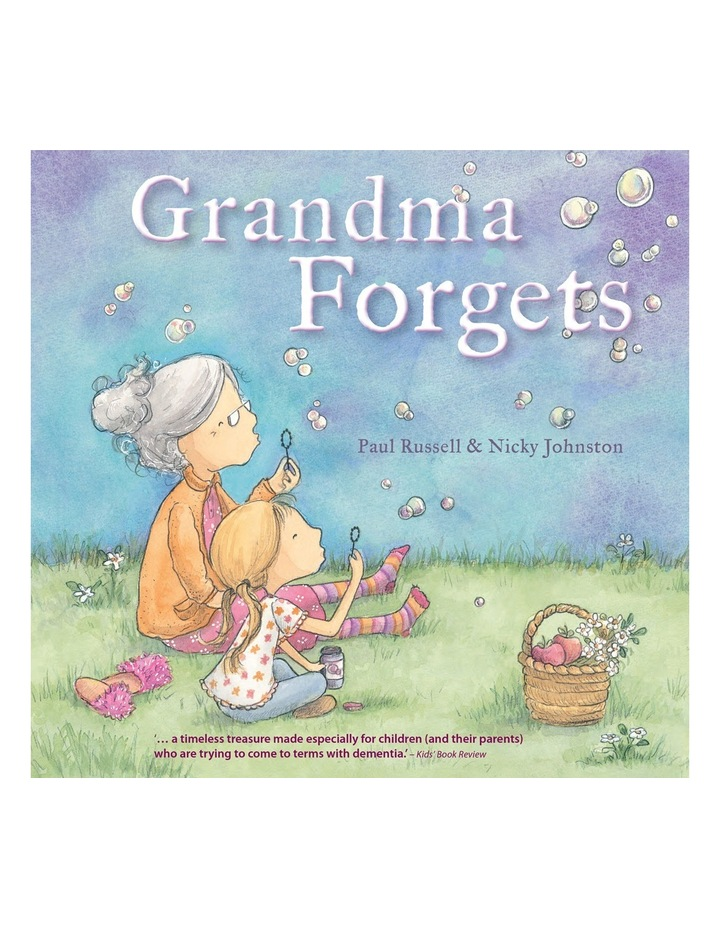 Grandma Forgets written by Paul Russell & illustrated by Nicky Johnston (Paperback) image 1