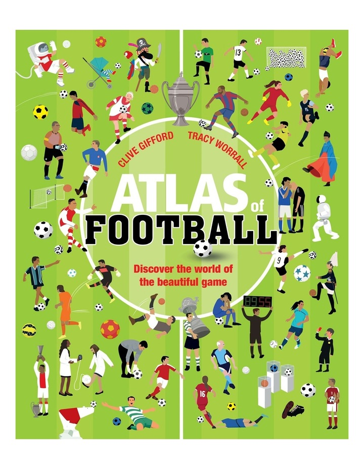Atlas of Football by Clive Gifford (Paperback) image 1