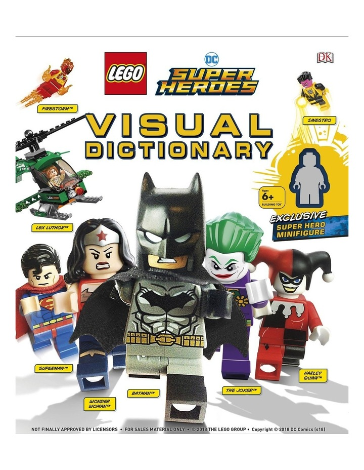 LEGO DC Comics Super Heroes Visual Dictionary image 1