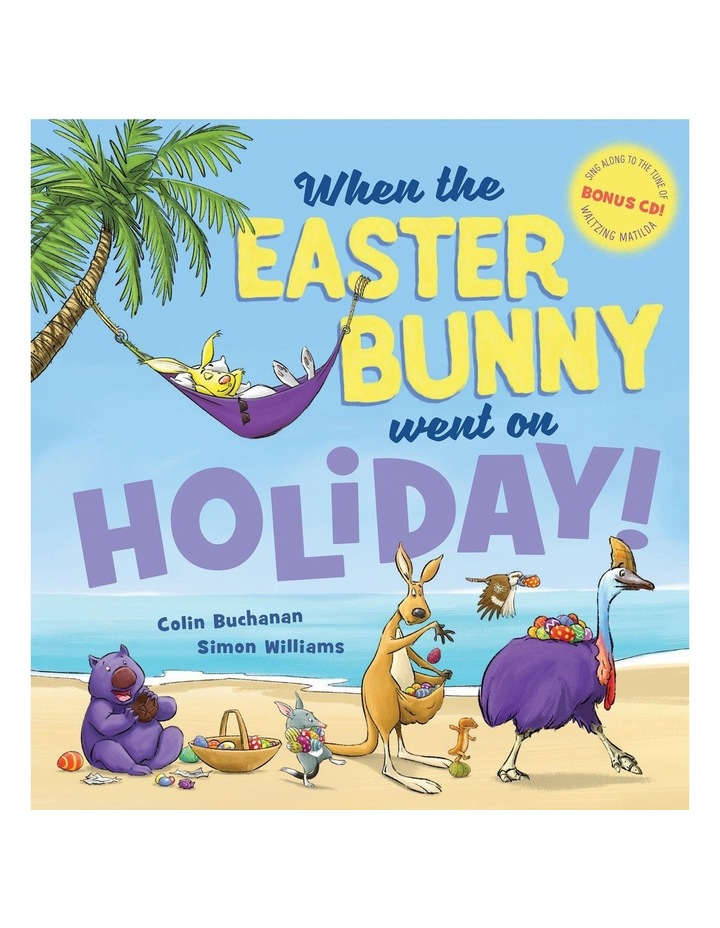 When the Easter Bunny Went on Holiday!   CD image 1