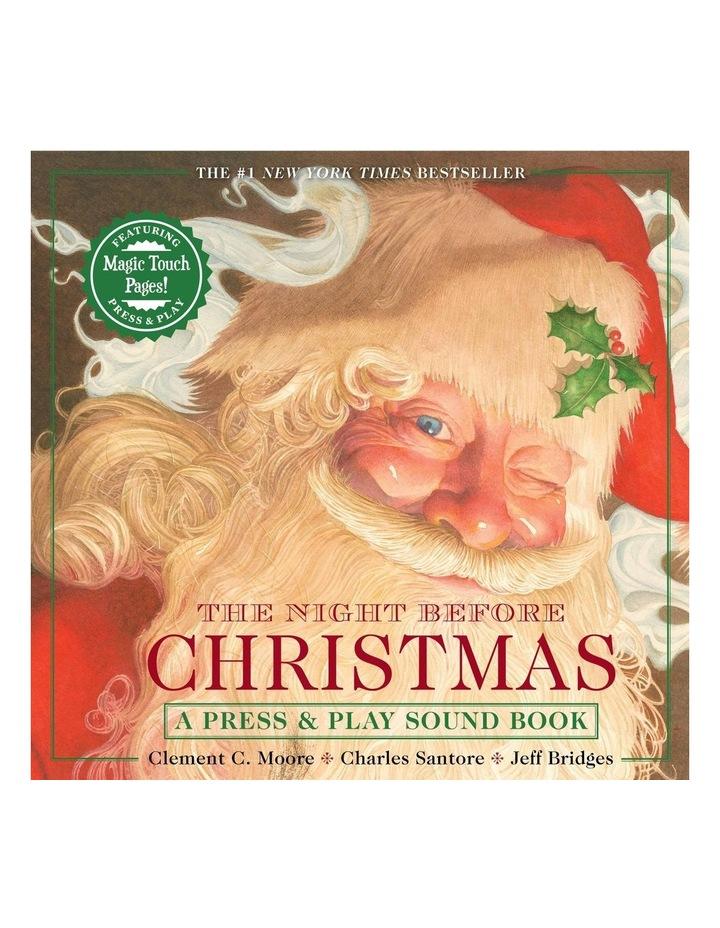 Night Before Christmas Press & Play Storybook image 1