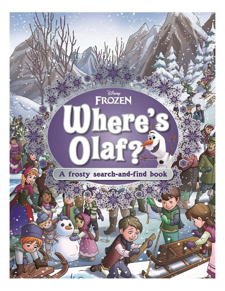 Frozen - Where's Olaf A Search-and-Find Book image 1