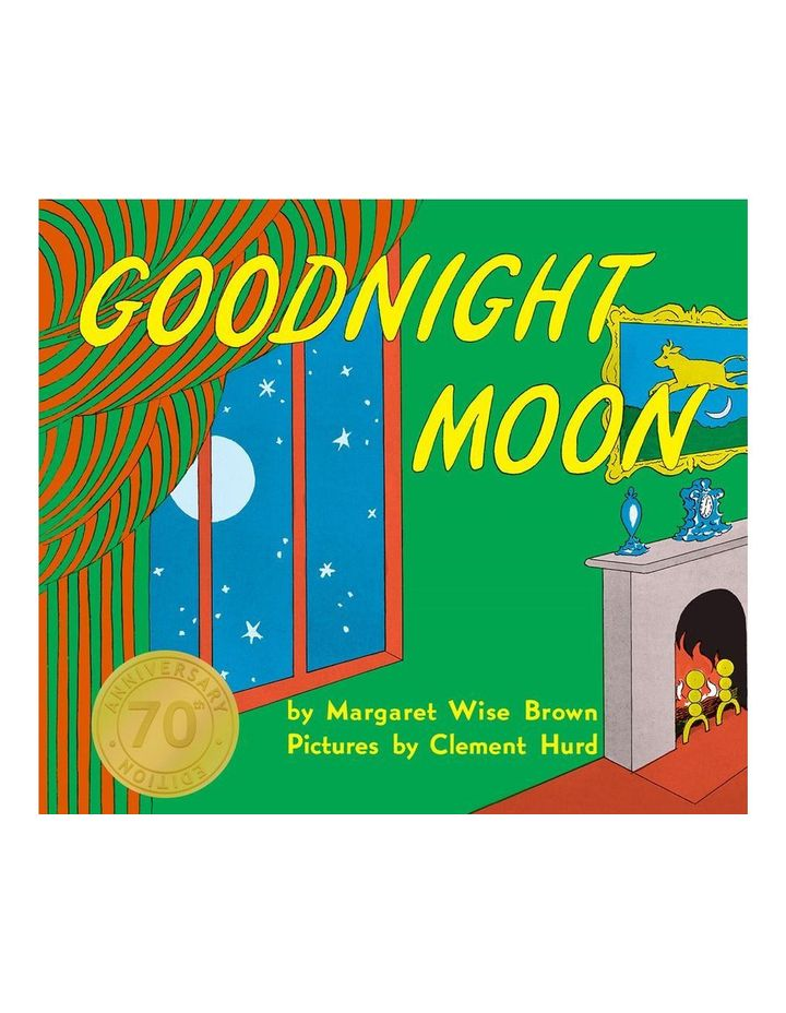 Goodnight Moon by Margaret Wise Brown & Illustrated by Clement Hurd (Board Book) image 1