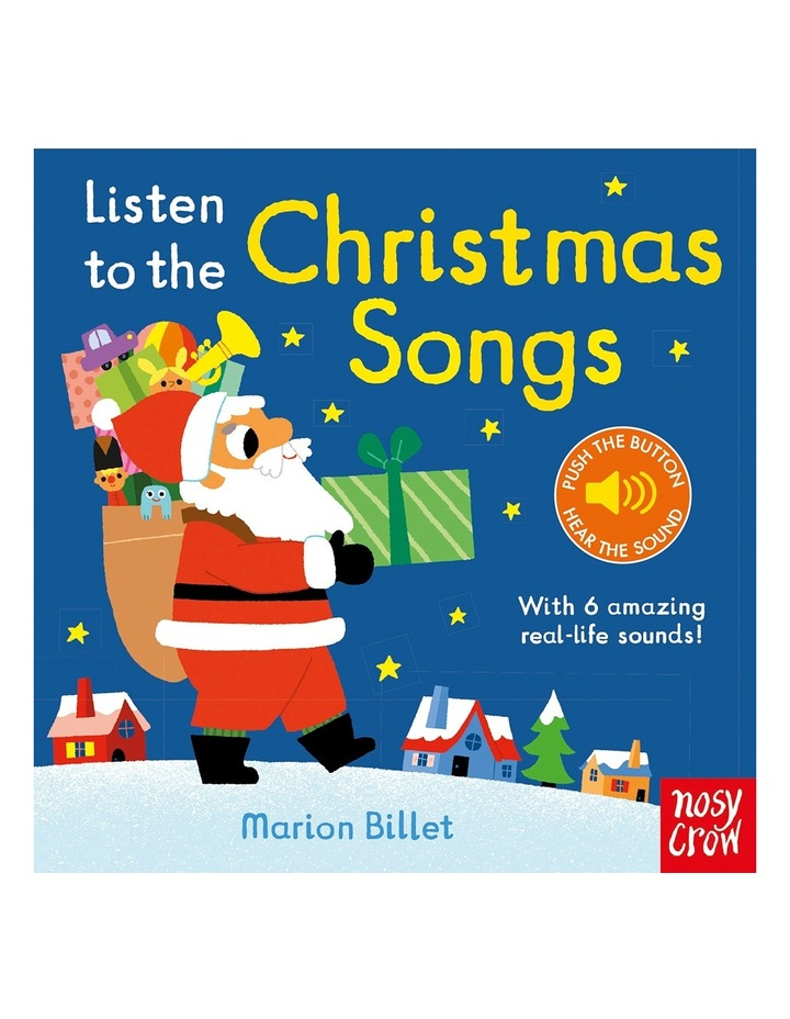 Listen To The Christmas Songs By Marion Billet (Hardback) image 1