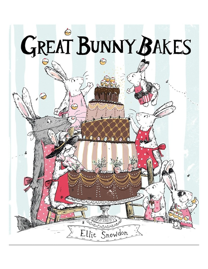 Great Bunny Bakes by Ellie Snowdon (Hardback) image 1