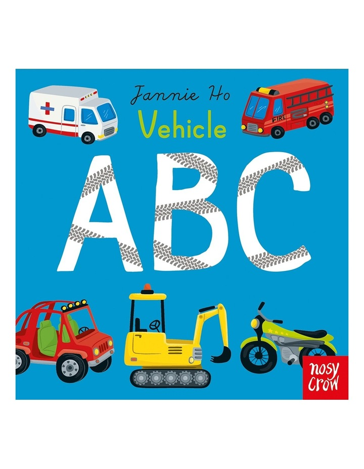 Vehicle ABC by Jannie Ho (Board Book) image 1
