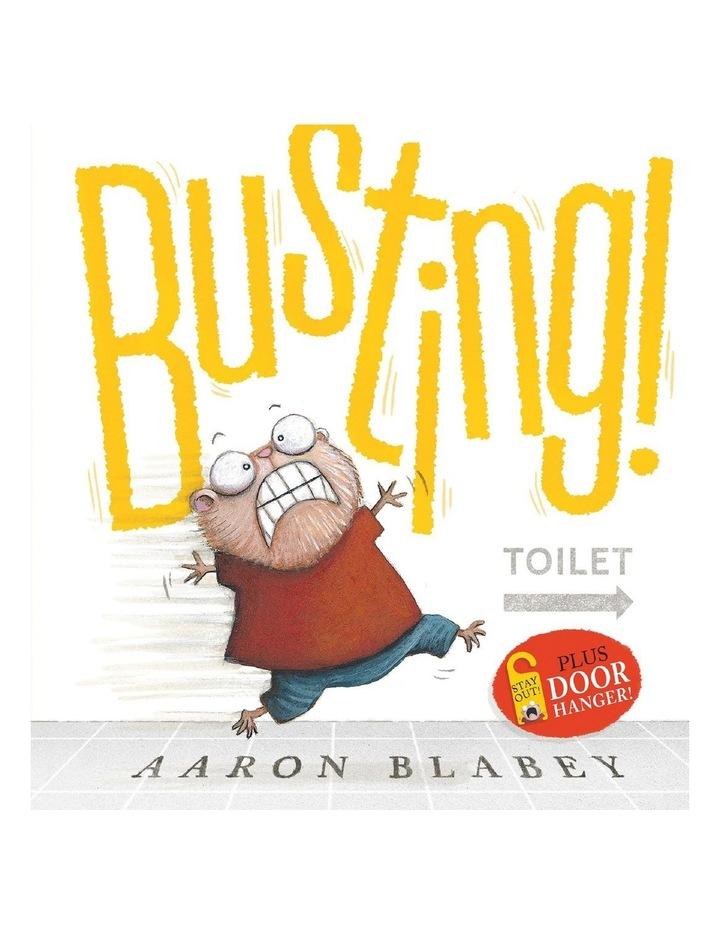 Busting!   Door Hanger image 1