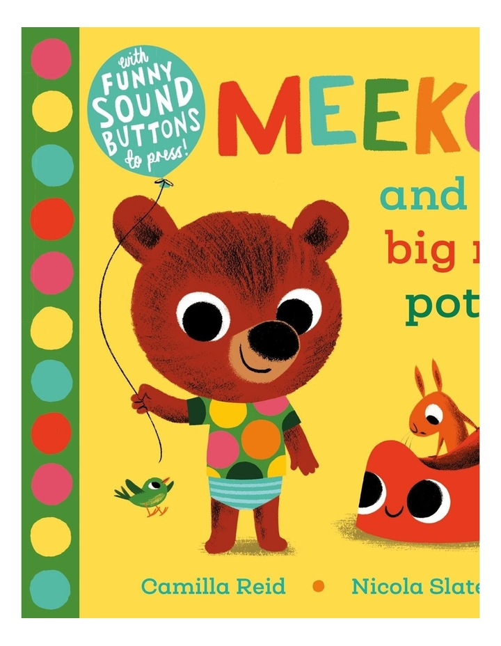 Meekoo and the Big Red Potty image 1