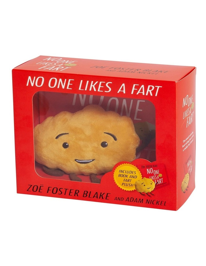 No One Likes a Fart Box Set (book and plush) image 1