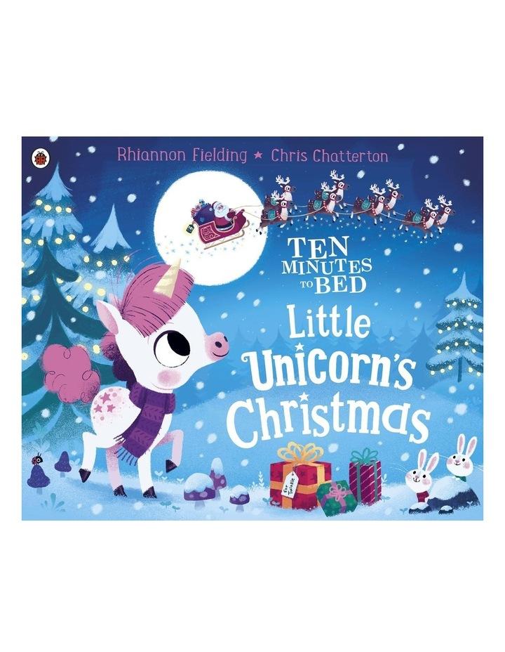 Christmas Unicorn.Penguin Ten Minutes To Bed Christmas Unicorn