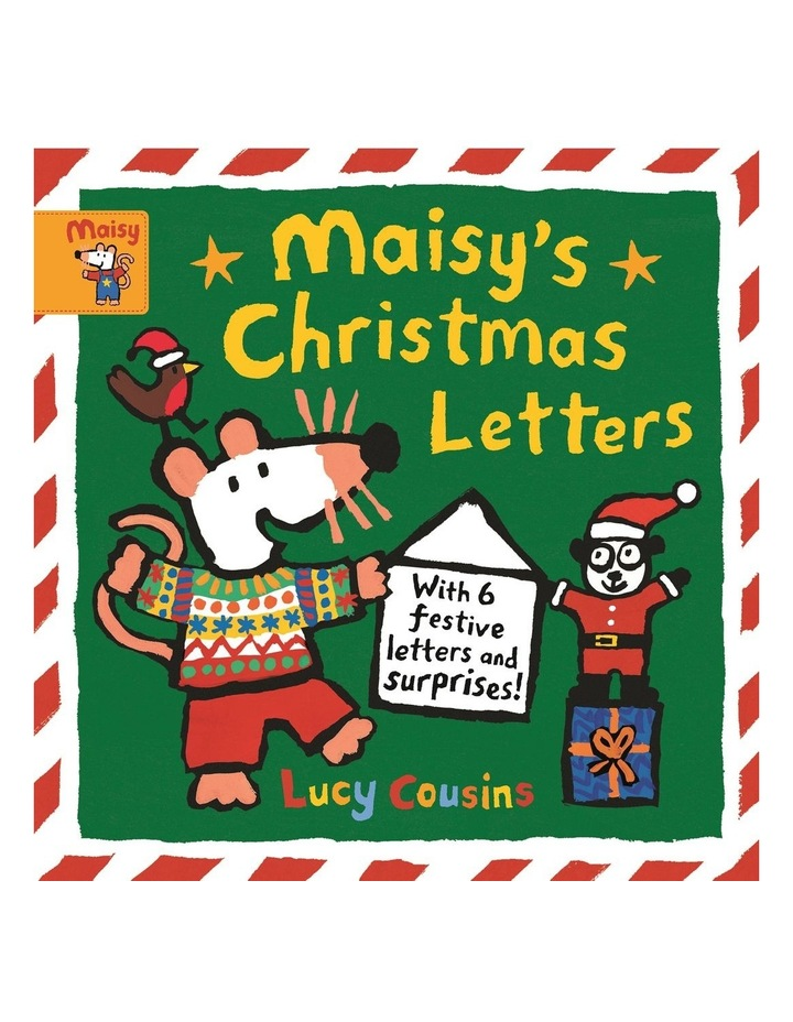 Maisy's Christmas Letters: With 6 festive letters and surprises! image 1