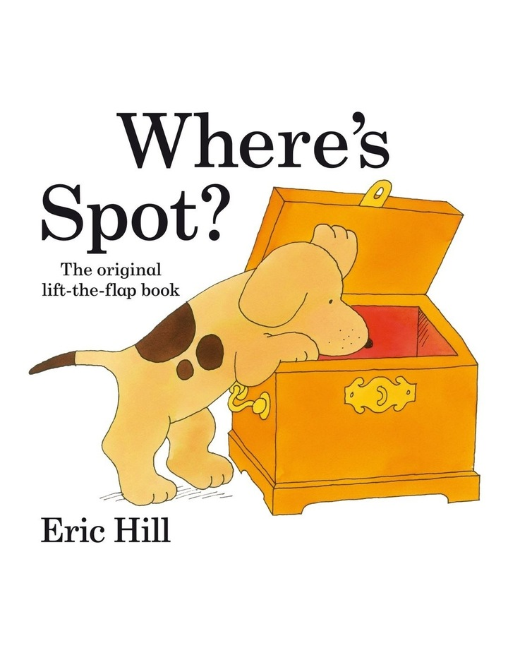 Where's Spot? (Board Book) image 1