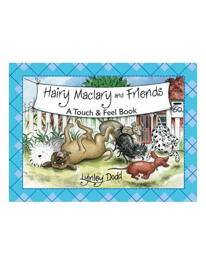 Hairy Mcclary & Friends: A Touch & Feel Book (Board Book) image 1