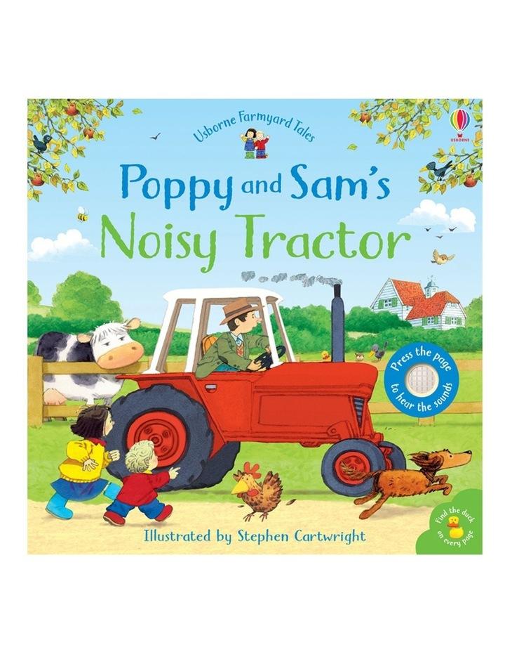 Farmyard Tales:  Poppy and Sam's Noisy Tractor (Board Book) image 1