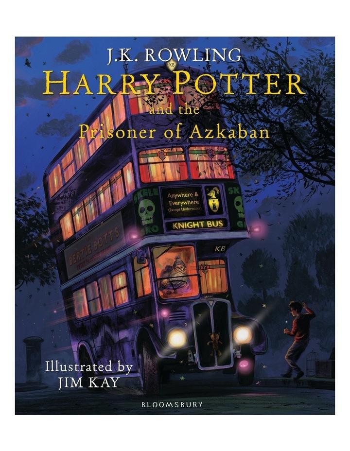 Harry Potter and the Prisoner of Azkaban by J.K. Rowling- Illustrated Edition (Hardback) image 1