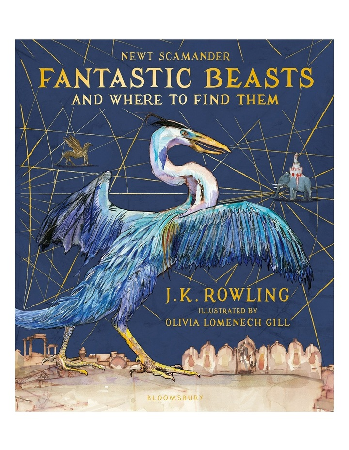 Fantastic Beasts and Where to Find Them Illustrated image 1