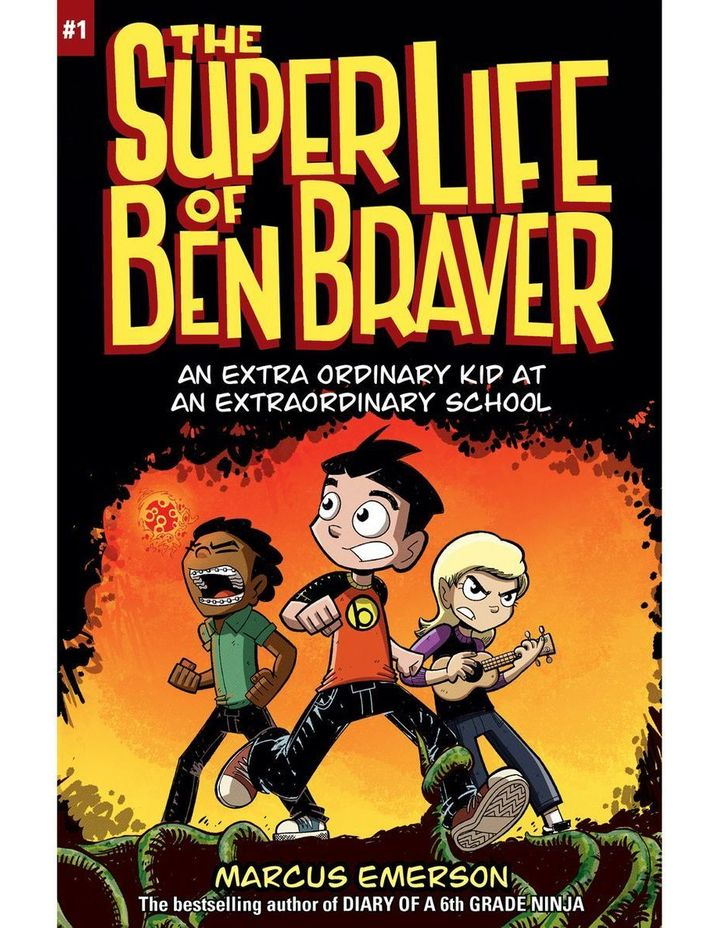 The Super Life of Ben Braver: The Super Life of Ben Braver 1 by Marcus Emerson (paperback) image 1