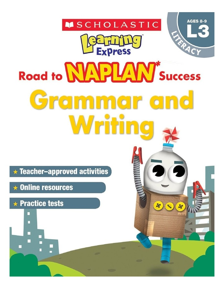 Learning Express NAPLAN: Grammar & Writing NAPLAN L3 image 1
