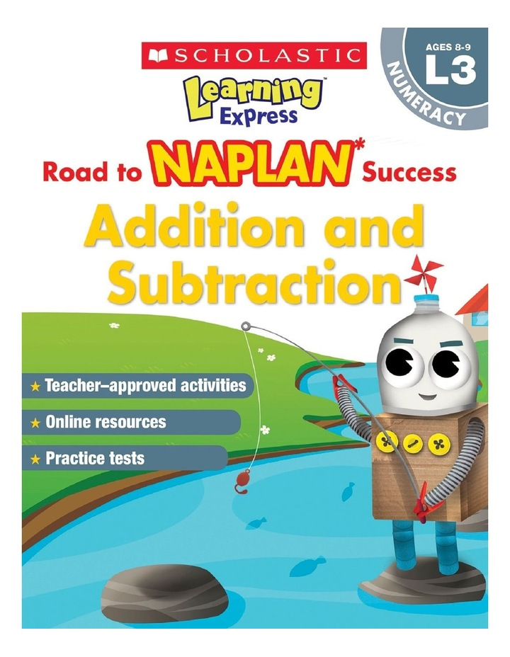 Learning Express NAPLAN: Addition & Subtraction NAPLAN L3 image 1