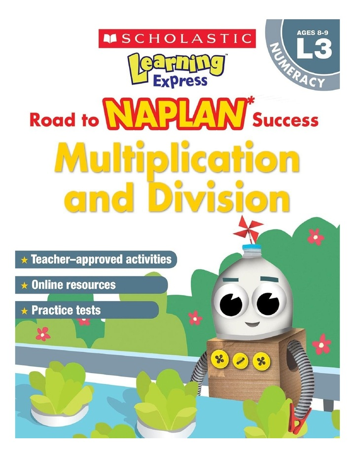 Learning Express NAPLAN: Multiplication & Division NAPLAN L3 image 1