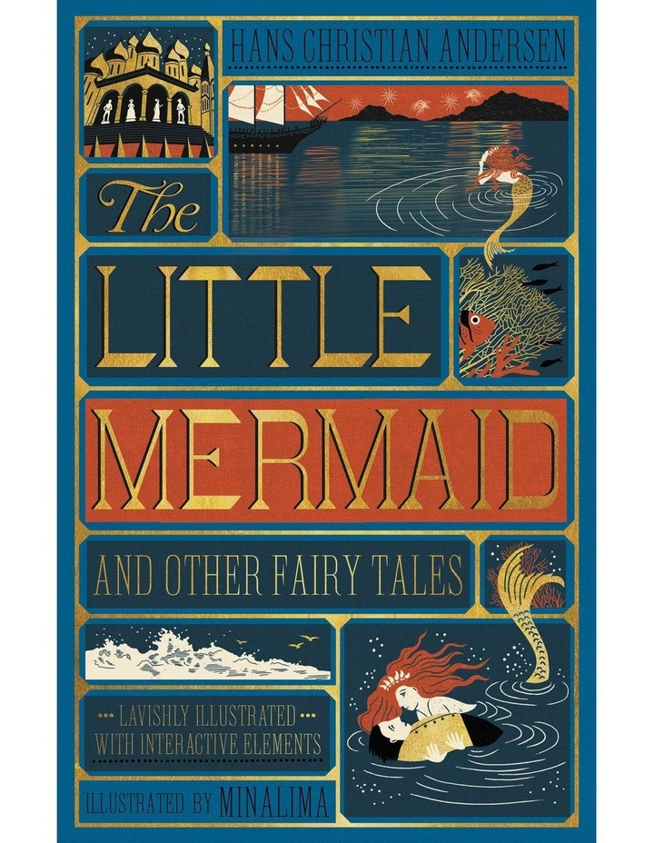 Little Mermaid and Other Fairy Tales by Hans Christian Anderson (Hardback) image 1