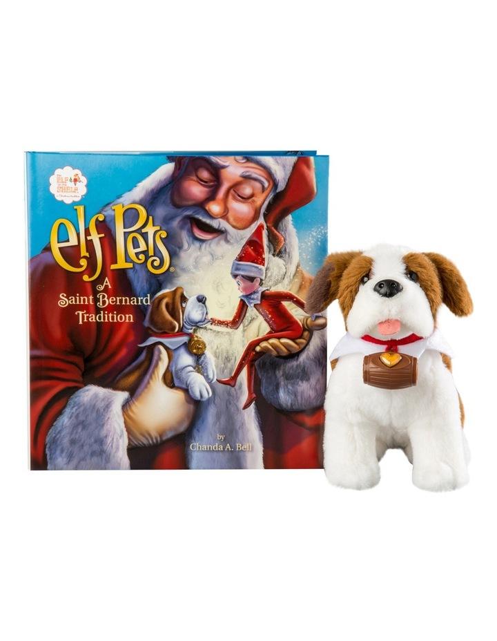 Elf Pets: A Saint Bernard Tradition by Chanda A. Bell (Hardback) image 2