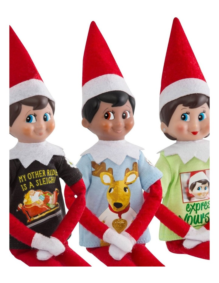 The Elf on the Shelf Claus Couture 3 Pack of Tees image 1