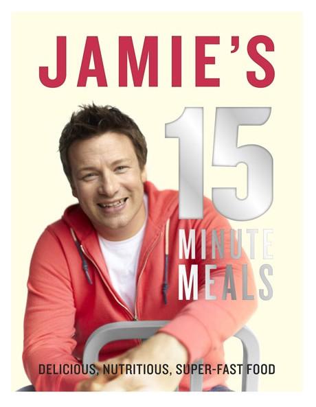Jamie's 15 Minute Meals by Jamie Oliver (hardback) image 1
