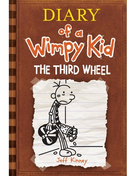 Third Wheel: Diary Of A Wimpy Kid: Book 7 by Jeff Kinney (paperback) image 1