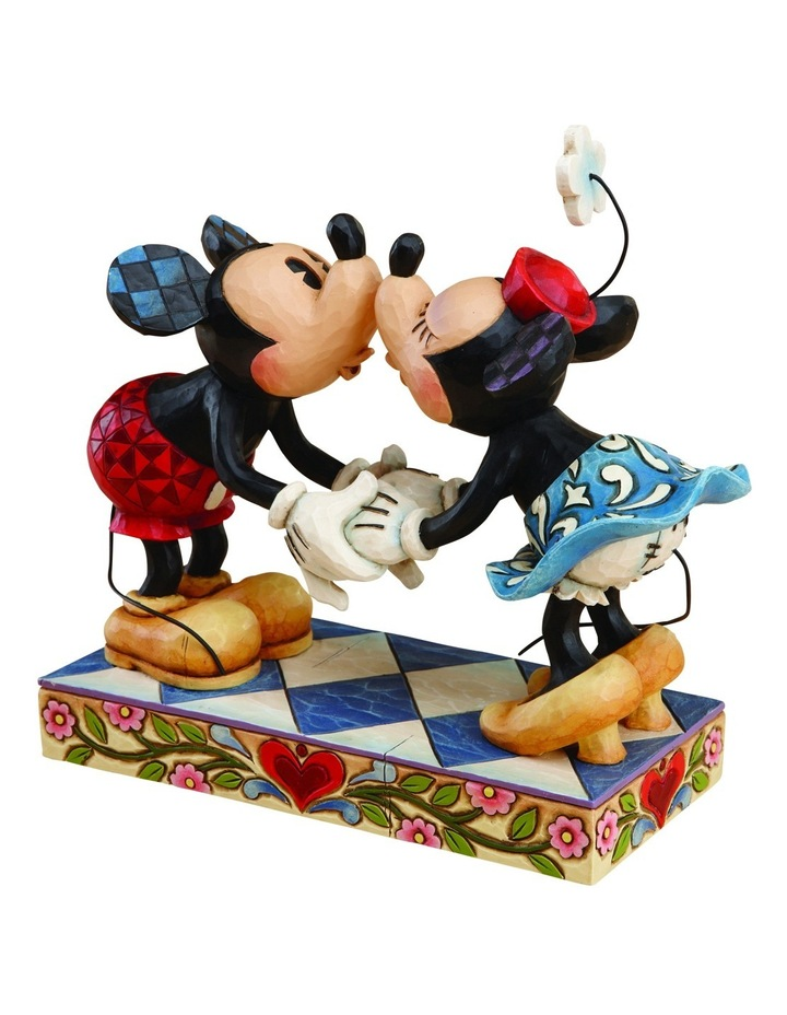 Mickey And Minnie Kissing image 1