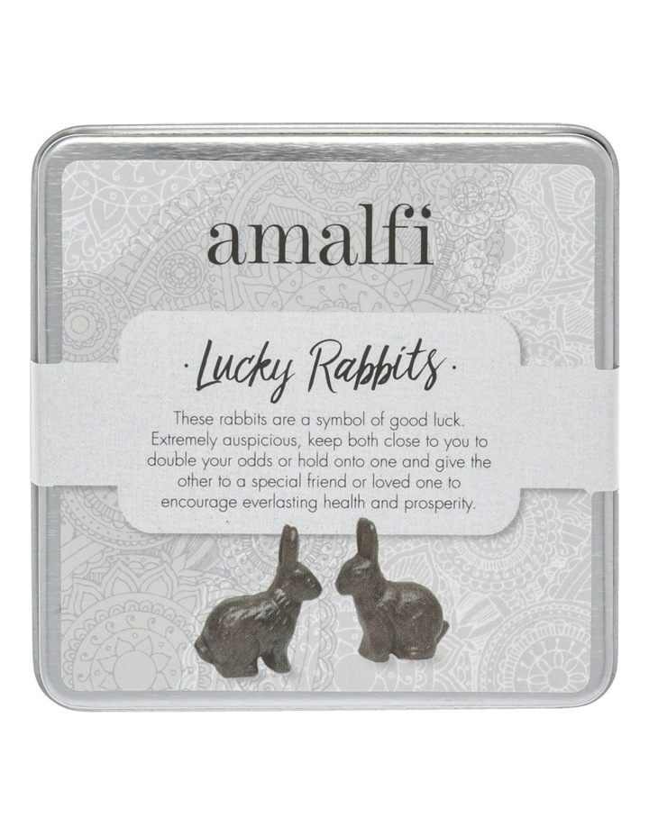 Set of 2 Lucky Rabbits image 1