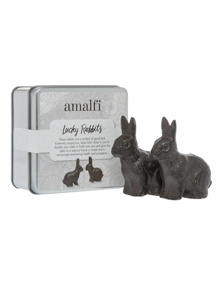 Set of 2 Lucky Rabbits image 2