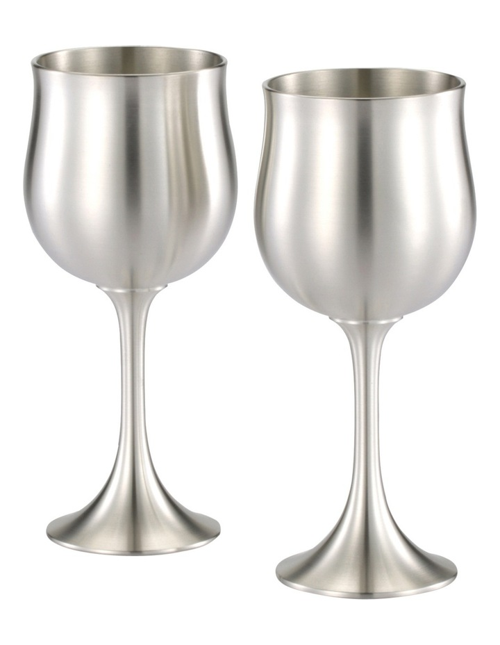 Water Goblet Pair in Gift Box image 3