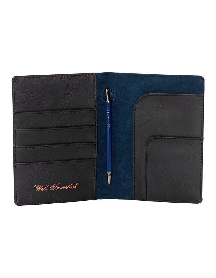 74bb0ee08 Ted Baker for Him Travel Wallet   Pen Black Brogue image 3