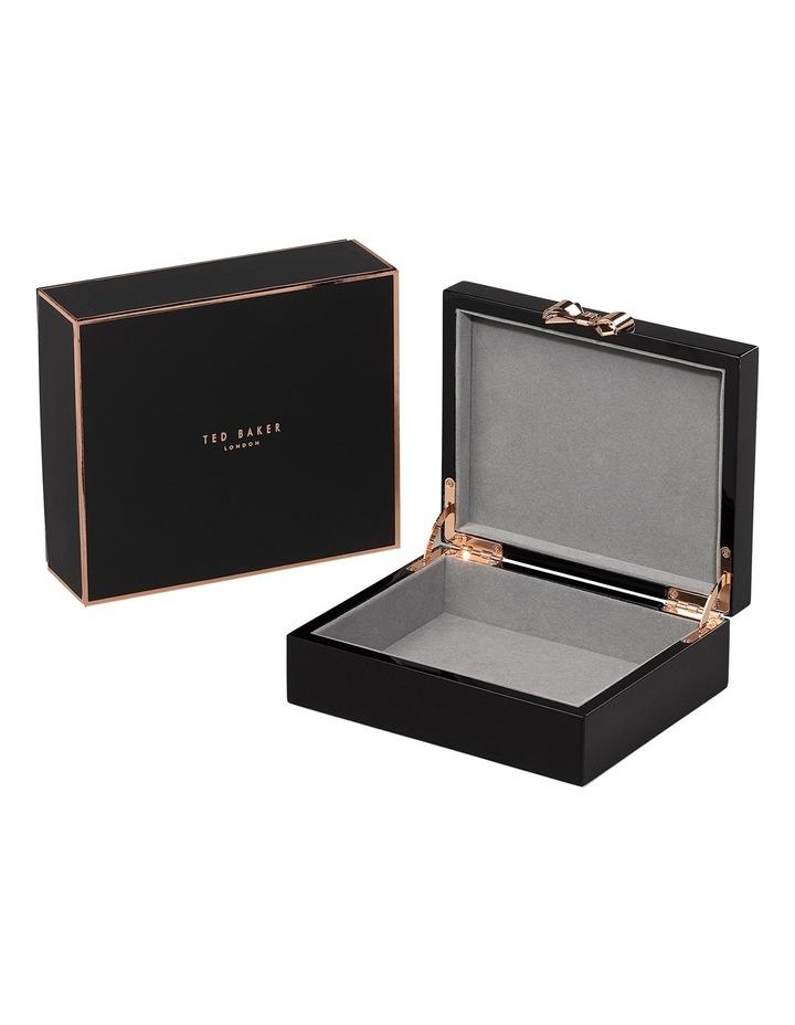 Lacquer Medium Black Jewellery Box image 2