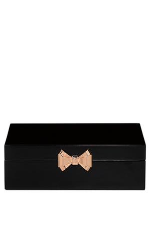 Ted Baker - Lacquer Medium Black Jewellery Box
