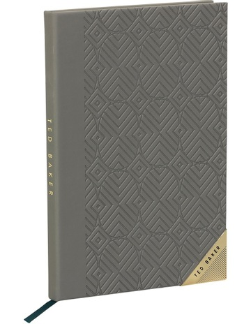 9fde4bc05590 Ted Baker A5 Notebook Ash Grey