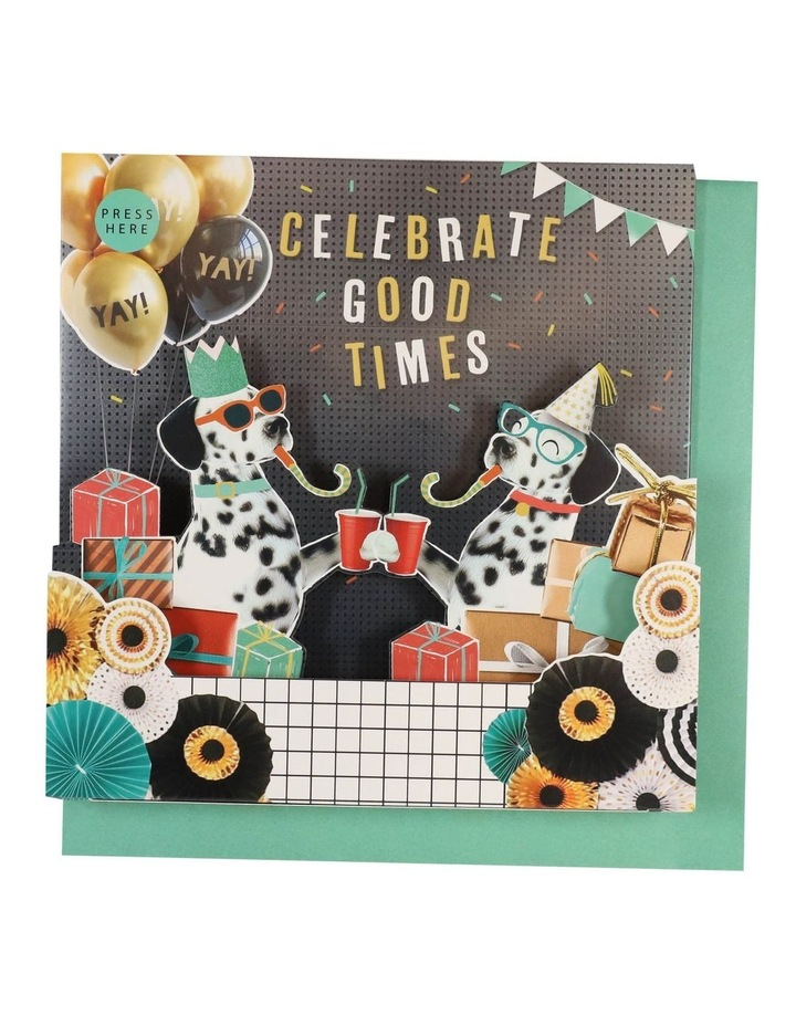 Celebrate Good Times Musical Card image 1